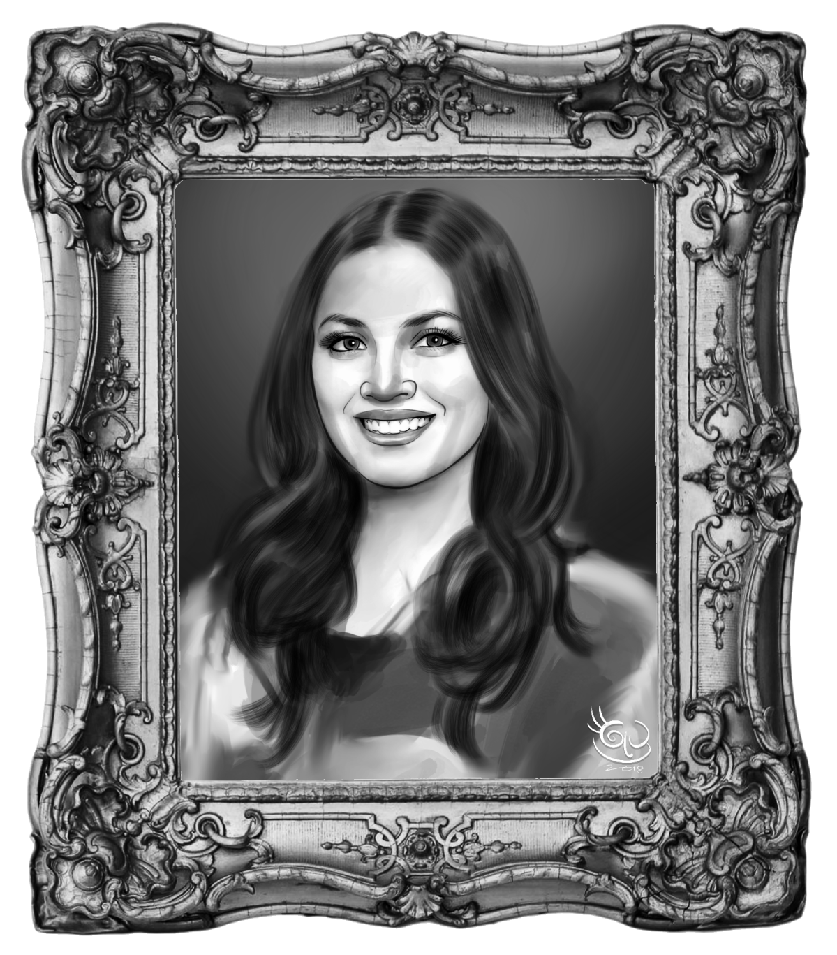 Portrait of fazura